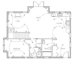 Symbols, Floor plans and Floors on Pinterest