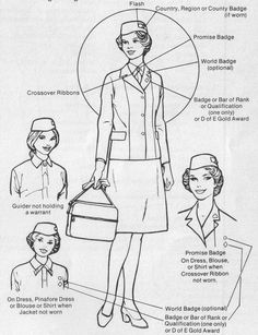 1000+ images about Girl Guide / Girl Scout leader uniforms