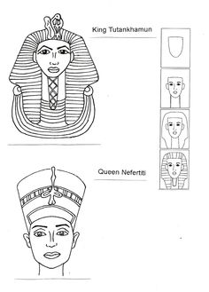Eye of Horus pattern. Use the printable outline for crafts