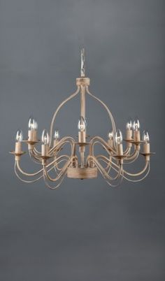 French Provincial Traditional Iron Pendant Rustic Large Chandelier 12 Lights