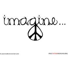 Music & Peace Black White Artist Signed Treble Clef Peace