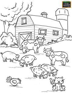 Farm animal worksheet for daisy