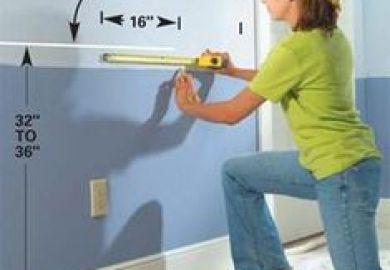 How To Install A Chair Rail Ehow