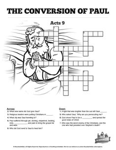The Wisdom Of Solomon Sunday School Crossword Puzzles: The
