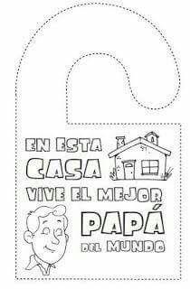 Tarjetas Día del Padre para imprimir: http://dibujos-para
