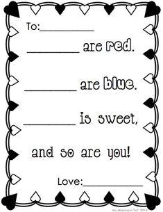1000+ images about Kindergarten valentines idea on