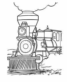 Steam Engine Train Coloring Pages, Steam, Free Engine