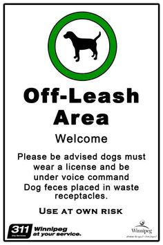 This Dog Park etiquette poster should be placed at every