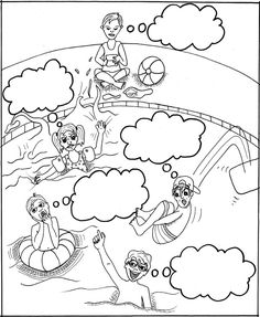 comic strip stories, great for teaching kids perspective