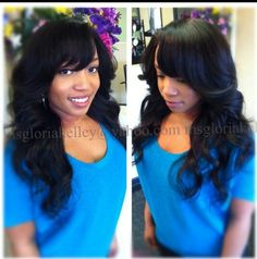 Brazilian Straight 16 And14 Inches Full Sew In Inspiring Ideas