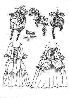 Elizabethan era, Paper dolls and Dolls on Pinterest
