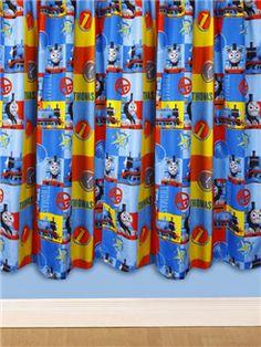 Thomas The Train Engine & Friends Drapery Drapes Curtain Panels