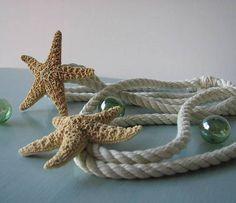 Beach Decor Starfish Tie Back For C Starfish Make