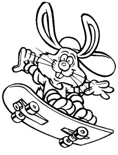 20 Printable Easter-Themed Coloring Pages for Kids: Funny