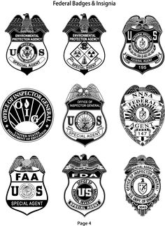 1000+ images about Federal Agency Badges and Patches on