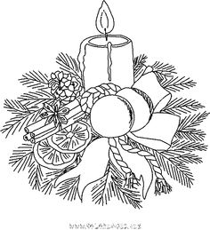 Candle Coloring Pages Printable Sheen
