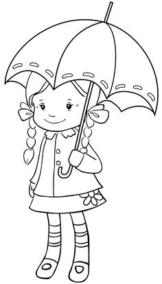 rainy day cartoon pictures gallery black and white