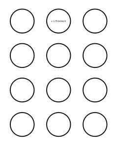 Half circle pattern. Use the printable outline for crafts