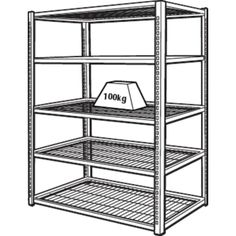 Shelves, Shelf units and Storage on Pinterest