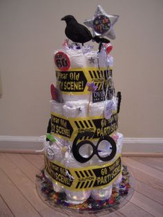 Funny Gag Gift Geriatric Diaper Cake Made From Quot Depends