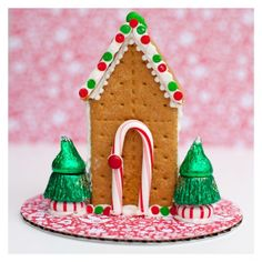 Graham Cracker Gingerbread House Ricetta Natale Case Di Pan