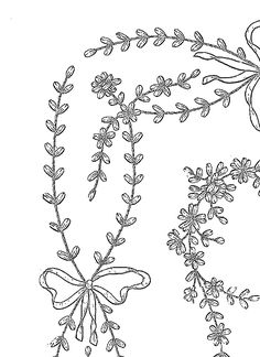 1000+ images about Embroidery Borders on Pinterest