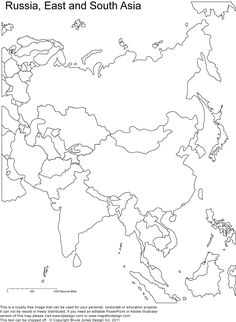 1000+ ideas about Asia Map on Pinterest