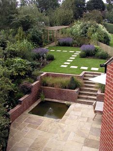 Terracing A Sloping Garden Flickr Photo Sharing! Garden