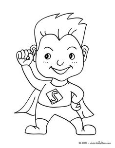 Superhero activities: FREE Color Your Hearts Out