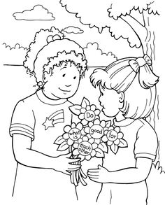 1000+ images about Sunday School Coloring Sheets on