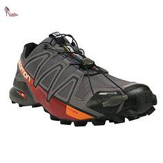 salomon speedcross cs chaussures de running gris modele