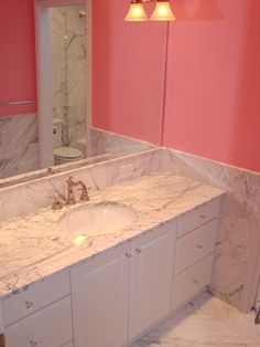 1000 Images About Pink Bathrooms On Pinterest Pink