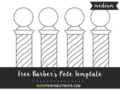 Printable Pitchfork Shape Template from PrintableTreats