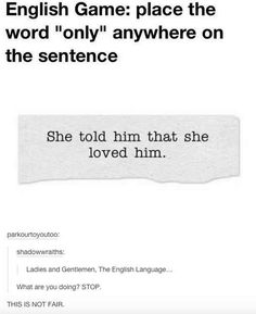 A poem about why the English language is so hard to learn