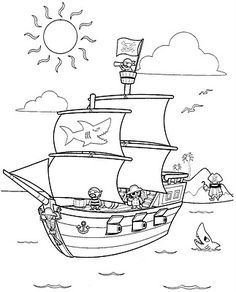 1000+ images about Pirate Toddler Lesson Plans on