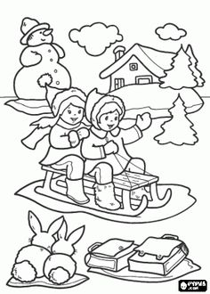 1000+ images about snow coloring sheet for g-kids on