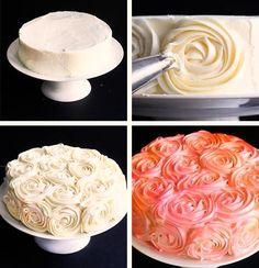 Rose Cake En Pate A Sucre Mes Recettes De Gateaux De Fêtes