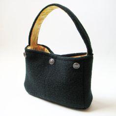 A purse designed by flight attendants