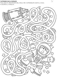 Seven Circles Maze -ThinkMaze.com