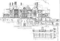 Slains Castle Ground Floor Plan. by Harlequintessence, via