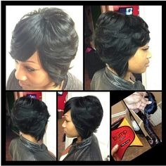 sew in bob style with illusion part on pinterest bobs sew ins and black girl weave
