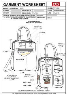 Handbag / Purse design illustration sketch drawing / Hand
