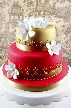 1000 Images About Two Tier Cakes On Pinterest Two Tier