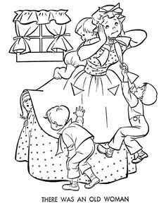 nursery rhyme coloring page: inkspired musings: Mary had a