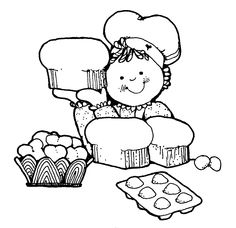 1000+ images about BAKING AND COOKING (VINTAGE ART) on