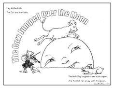 mary had a little lamb nursery rhyme coloring sheet