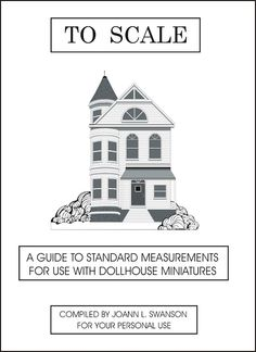 Detailed guide to 1:12 scale dollhouse sizes for different