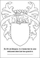 1000+ images about coat of arms templates on Pinterest