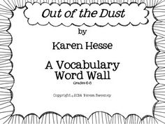 Out of the Dust Figurative Language Test Using Quotes From