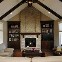 vaulted ceiling with windows | cathedral ceiling with ...